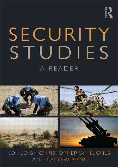 Security Studies By Hughes, Christopher
